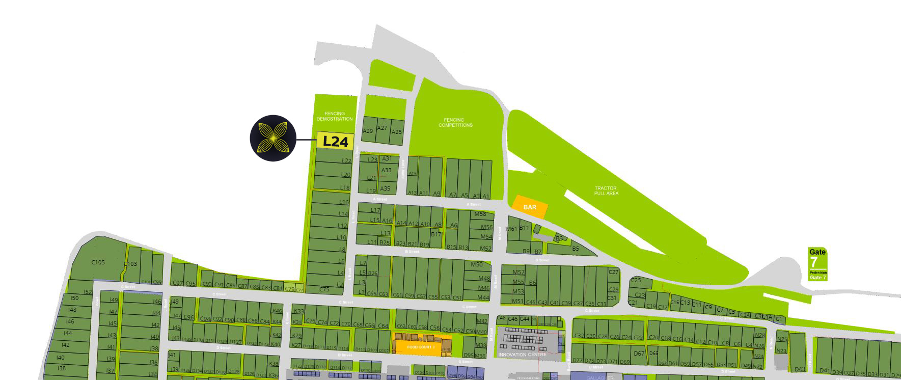 howscape 2019 Fieldays Map Location